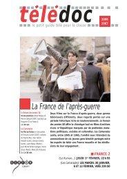 La France de l'après-guerre - CNDP