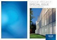 GROHE Project SPECIAL ISSUE