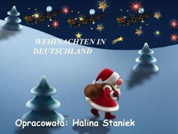Opracowała: Halina Staniek