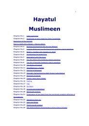 Hayatul Muslimeen.doc - The Quran Blog - Enlighten Yourself