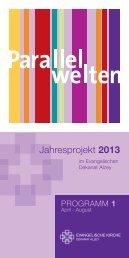 Jahresprojekt Parallelwelten - Evangelische Kirche Rheinhessen