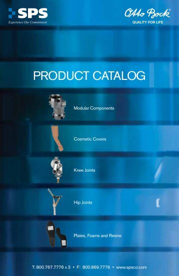 PRODUCT CATALOG - SPS