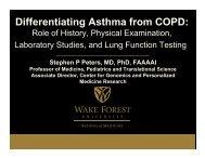 Stephen Peters - World Allergy Organization