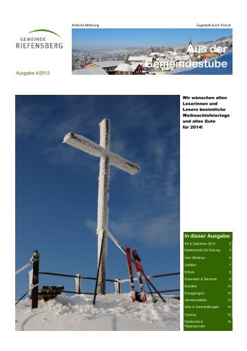 Ausgabe 4/2013 (PDF) - Riefensberg