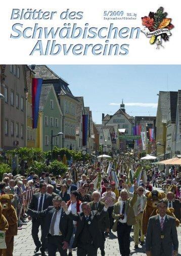 AV-Blatt 5/2009 - Schwaben-Kultur