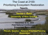 The Coast at 2100 - University of New Orleans