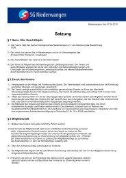 zum Download! - SG Niederwangen