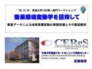 講演資料 - 近藤研究室 - 千葉大学