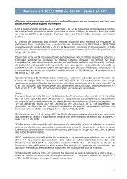Portaria n.º 1022/2006 de 20/09 - Série I nº 182 - Portal das Finanças