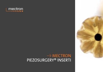 Û mectron piezosurgery® inserti