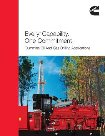 EveryTM Capability. One Commitment. - Cummins Engines