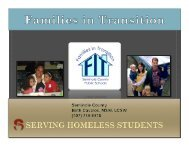 Website PowerPoint October 25 - Families in Transition