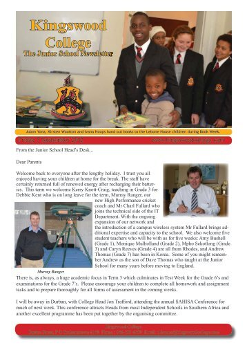 7 September 2012 - Kingswood College