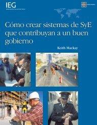 Cómo crear sistemas de SyE que contribuyan a un buen gobierno ...