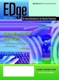 Education in the Flat World - Center for Teaching and Technology