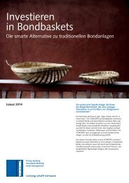 Bondbasket Folder - Bank Vontobel AG