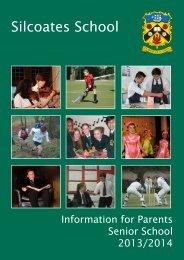 Pastoral Information - Silcoates School