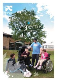 Download the 2011-2012 Portland College Prospectus (.pdf format)