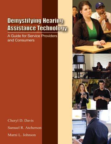Demystifying Hearing Assistance Technology - Western Oregon ...
