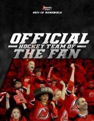View Renewal Brochure (PDF) - New Jersey Devils