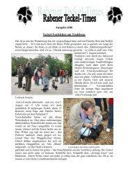 Ausgabe 6/06 - Teckelgruppe Raben