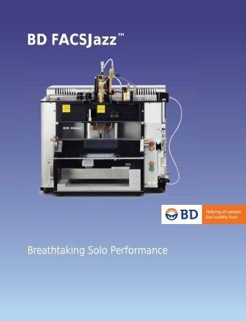 "BD FACSJazzâ""¢ Brochure - BD Biosciences"