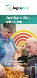 Kostbare Zeit schenken - logisplus AG
