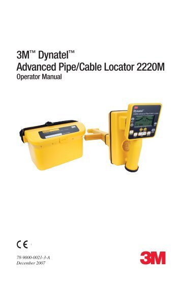 Abc Amp Xyz Of Locating Buried Pipes And Cables Radiodetection