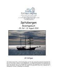 Reisetagebuch - Spitzbergen