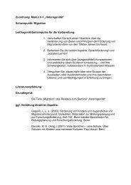 Hinweise zur Staatsexamensklausur im Modul V - Arbeitsgruppe ...