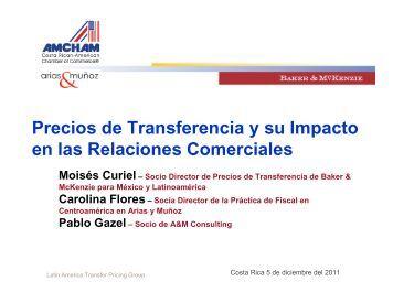 Precios de Transferencia y su Impacto en las Relaciones ... - Amcham