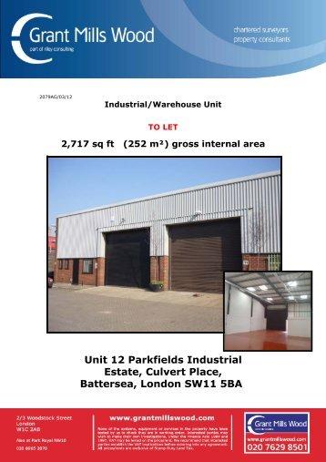 Unit 12 Parkfields Industrial Estate, Culvert Place ... - rbiassets.com