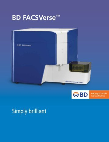 "BD FACSVerseâ""¢ Instrument Brochure - BD Biosciences"