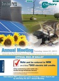 Annual Meeting - CoServ.com