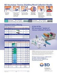 BD Vacutainer® Passive Shielding Blood Collection Needle