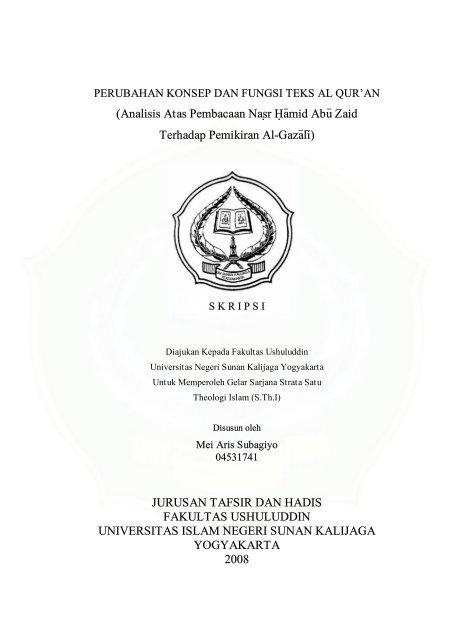 Motto Digilib Uin Sunan Kalijaga Yogyakarta
