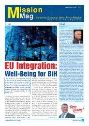 EU Integration: - European Union Police Mission in Bosnia and ...
