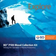 "BDâ""¢ P100 Blood Collection Kit"