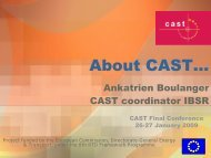 CAST, an overview - CAST - Campaigns and Awareness-raising ...