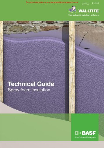 Walltite Technical Brochure - Ecobuild Product Search