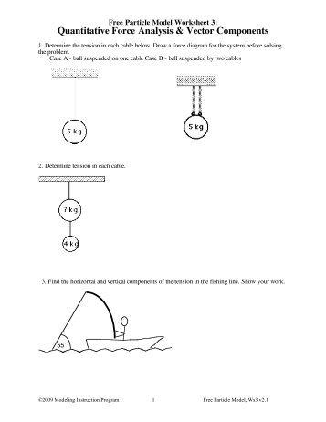 Worksheet 3 - Modeling Physics
