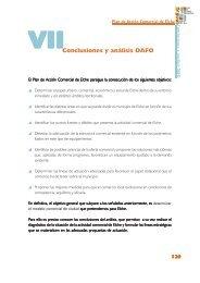 VIIConclusiones y análisis DAFO - Pateco
