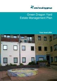 Green Dragon Yard Estate Management Plan - One Housing Group