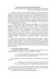 LER ANTONIO GRAMSCI EM ALFREDO BOSI Antonio Rodrigues ...