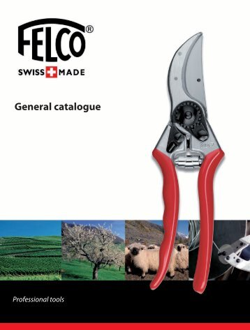General catalogue - Felco