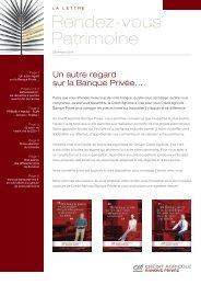 Le lien... - Crédit Agricole Alpes Provence