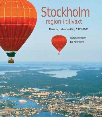 Stockholm - SLL Tillväxt, miljö och regionplanering (TMR ...
