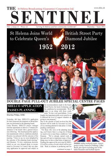 The Sentinel - 7 June 2012 - South Atlantic Media Services
