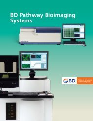 BD Pathway Bioimaging Systems Brochure - BD Biosciences