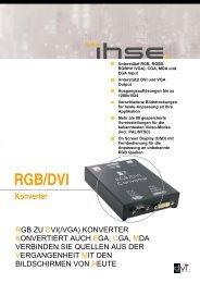 rgb/dvi(vga) konverter - KVM-Online
